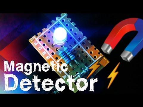 Magnetic Pole/ Field Detector / Flux Meter Tool With Hall Effect Magnetic Sensor