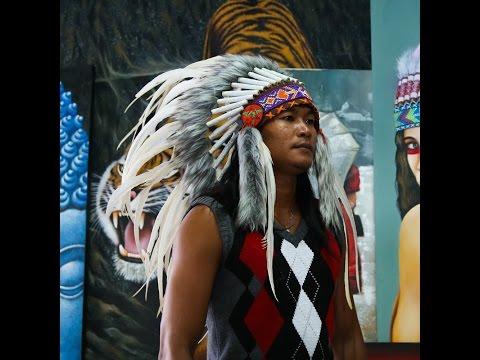 Native american Headdress for the Catwalk - Indian Headdress