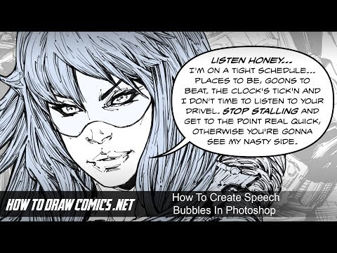 How To Create Speech Bubbles In Photoshop