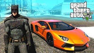 BATMAN VS THE HULK !!! GTA 5 MODS GAMEPLAY