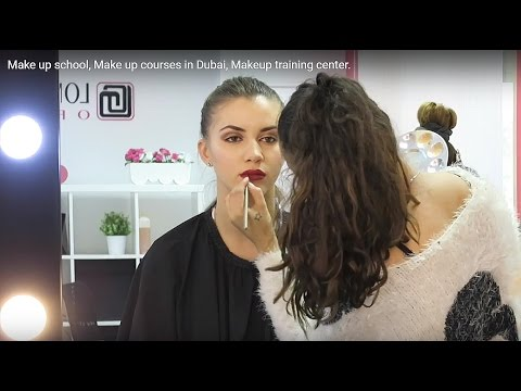 Make up school, Make up courses in Dubai, Makeup training center.