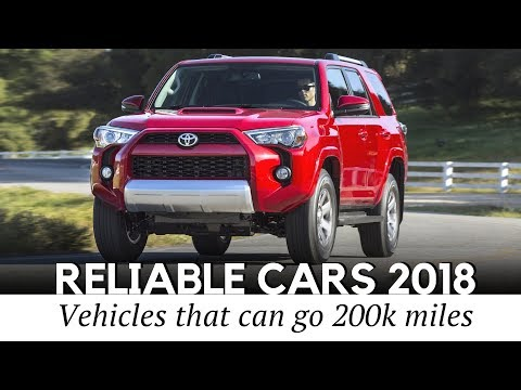 10 Most Reliable Cars with Durable Engines that Can Last Over 200,000 Miles