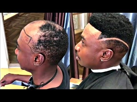 Man Weave Transformations | Cut By Dillon's Image | Afro Haircut
