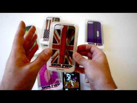 Case per iPhone 5 Skill Fwd: Birdkin e Flags