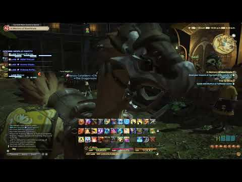 Final Fantasy XIV: Rey and Friends go through Palace of the Dead Part 3
