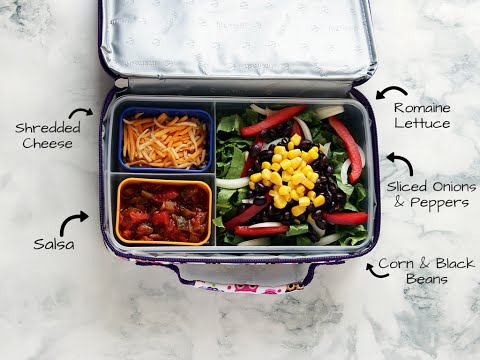 Build a Better Lunchbox: Salad Meets #TacoTuesday