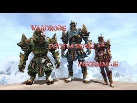 Guild Wars 2 - Wardrobe System ( czyli garderoba ) pl