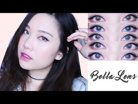 Lenses for Dark Eyes: Bella Lens | $5 Solitica Dupes