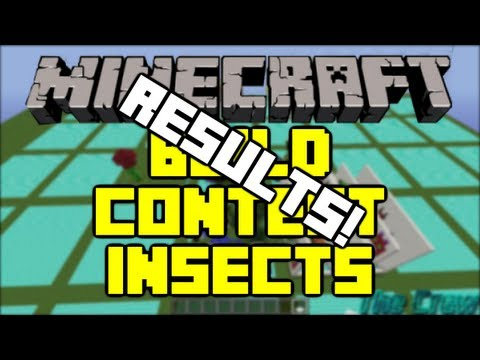 Minecraft - Build Contest - Insects - Results