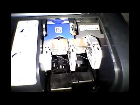 HP Photosmart 7660 Ink Cartridge Tutorial