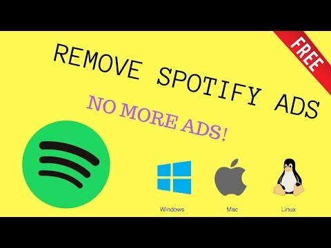 HOW TO GET RID OF SPOTIFY ADS (Windows/Mac/Linux 2017 WORKS)
