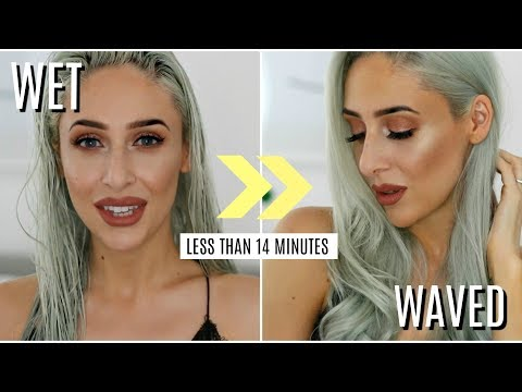 Hair Hacks + How To Dry Hair Quicker - AD | Carly Musleh