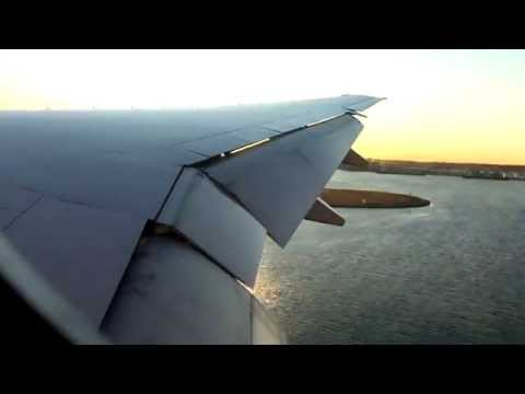 Los Angeles-Sydney | United Airlines 777 | HD