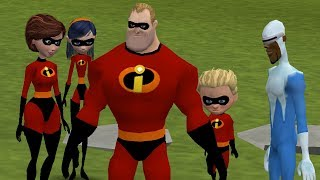 The Simpsons Hit & Run - The Incredibles Mod