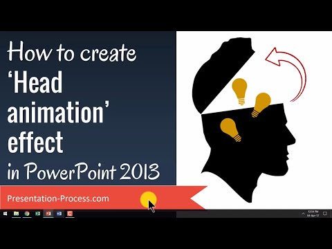 How to Create Head Animation Effect in PowerPoint