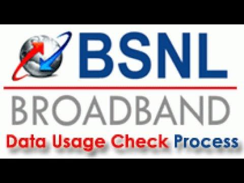How To Check BSNL Broadband Data Usage | 2018 Method