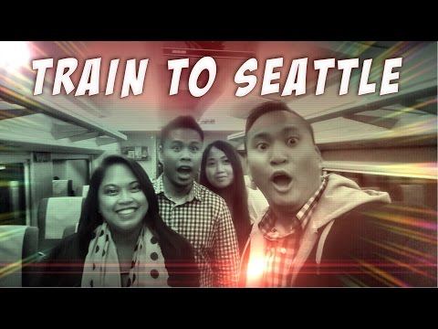 Train to  Seattle (Amtrak Cascades from Vancouver, BC CANADA)