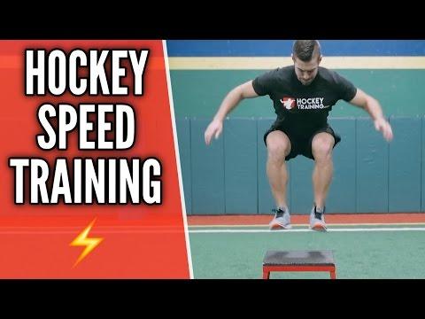 Hockey Speed Training ⚡️ Skate Faster ⚡️
