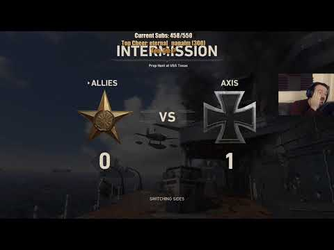 COD WW II MY BEST SESSION EVER! pt1