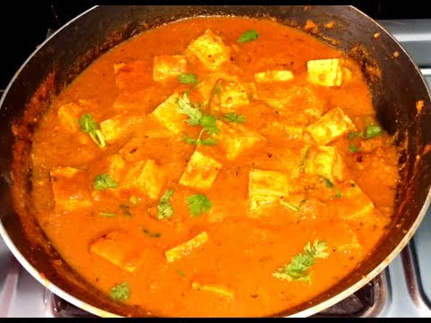 Tofu Soya Paneer Masala Recipe (English Subtitles)