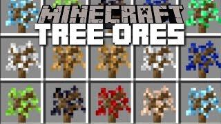 Minecraft Tree Ores Mod / Plant Endless Amounts Of Ores!! Minecraft