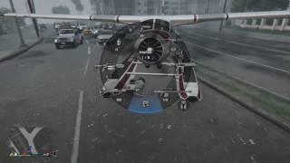 Grand Theft Auto V Plane Crash II