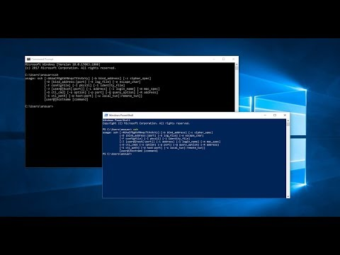 How to enable and install Built-in SSH in Windows 10 using the windows command prompt or powershell