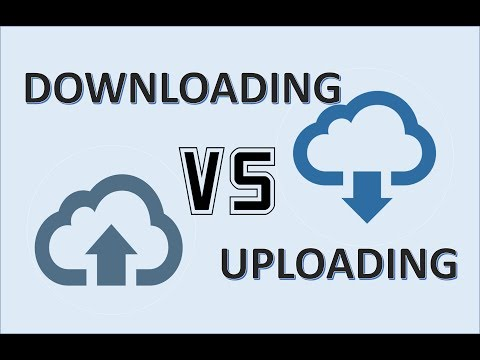 Computer Fundamentals - Downloading and Uploading