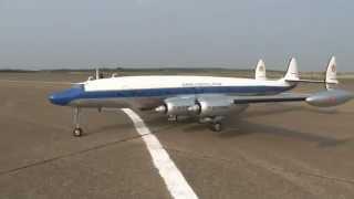 """RC LOCKHEED L-1049 SUPER CONSTELLATION """"CONNIE"""" MASSIVE SCALE"""