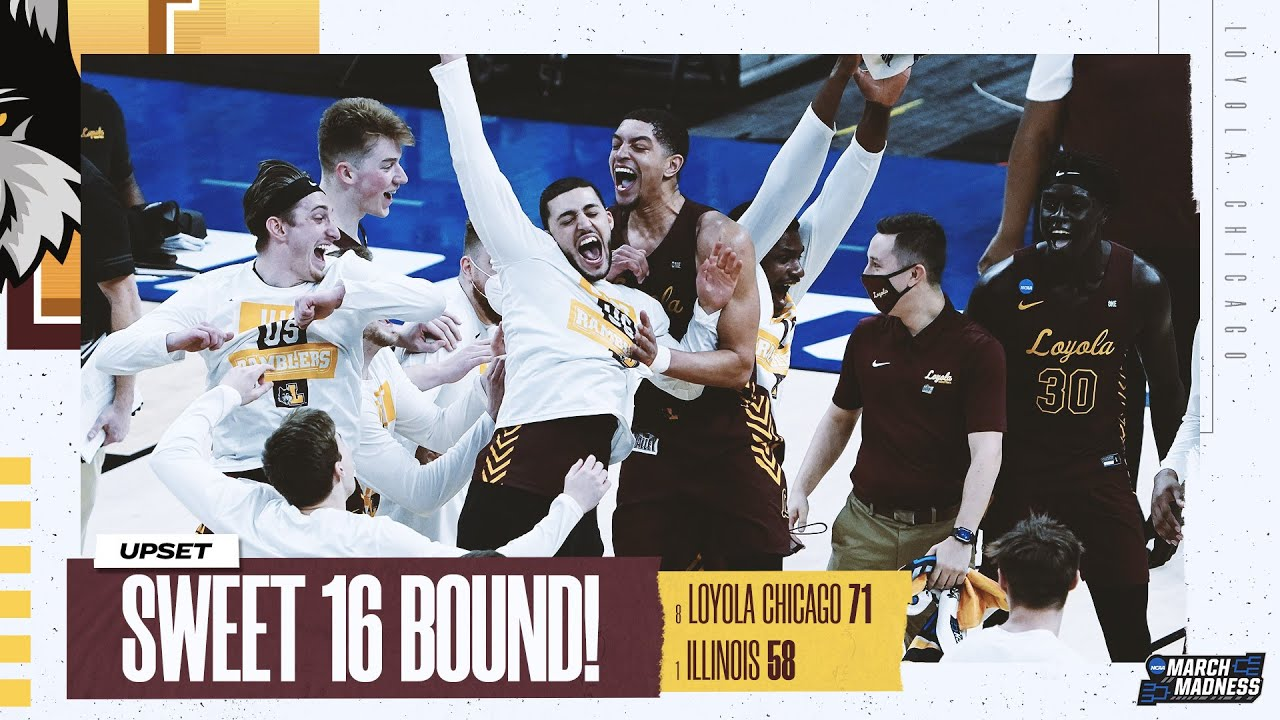 Loyola Chicago vs. Illinois - Second Round NCAA tournament extended highlights