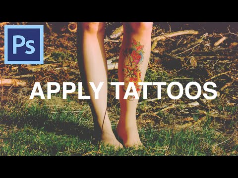 How To Apply Tattoos In Photoshop