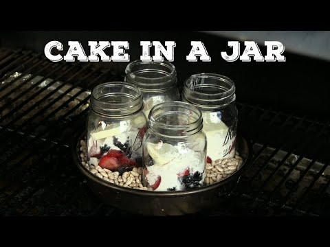 Cake in a Jar Dessert  Recipe | Traeger Grill