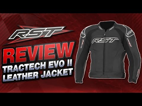 RST TracTech EVO II Leather Jacket Review | Sportbike Track Gear