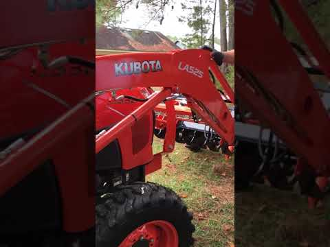 How to use a Kubota tractor