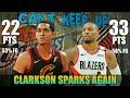 Download  Clarkson Nagliyab Muli, Cavs Sinagasaan ng Blazers | Clarkson vs Lillard Full Duel Highlights MP3,3GP,MP4