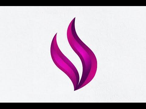 Tutorial Adobe Illustrator | Making 3d logo Design for beginner | Shield Pen Tool