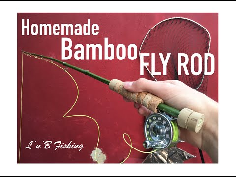 How to make a BAMBOO FLY PEN ROD