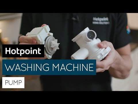 How to resolve washing machine drain and pump problems   by Hotpoint