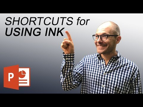 PowerPoint Ink Shortcuts to draw on your slides