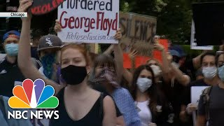 'No Justice, No Peace!' Protesters Rally In Chicago   NBC News