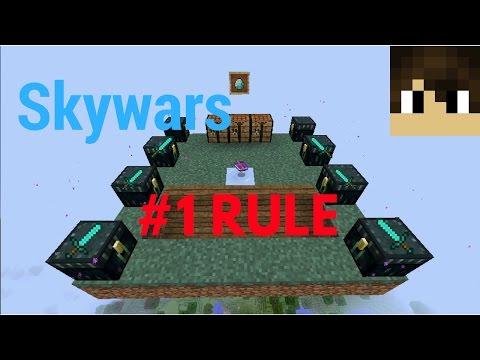 Skywars #1 Rule//Mineplex Minigame