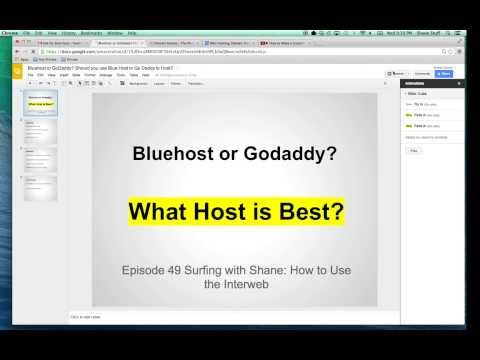 Bluehost or GoDaddy? Should I Use Blue Host or Go Daddy to Host My Website?