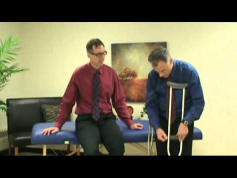 Crutches: How to Properly Adjust a Crutch.
