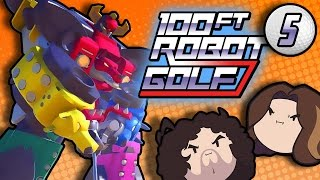100ft Robot Golf: Schoolyard Fight - PART 5 - Game Grumps VS