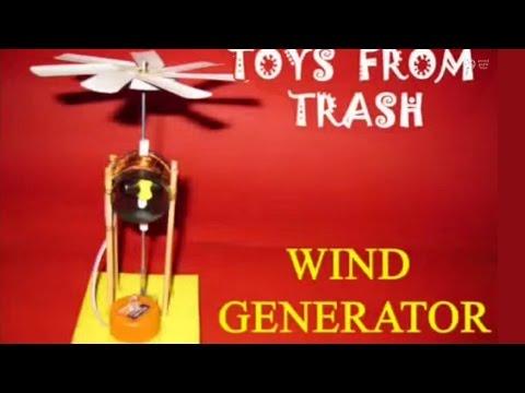 WIND GENERATOR - FRENCH - Wow! wind generator.