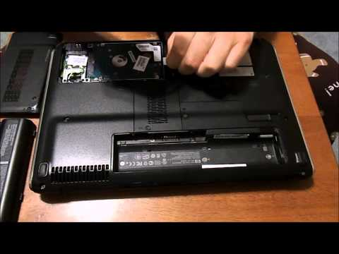 How to remove the hard drive on HP Pavillion dv4