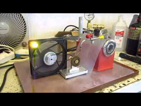 Ultra High Speed Model Electric Steam Turbine & Generator