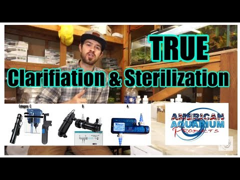 TRUE Aquarium & Pond UVc Clarification/Sterilization Level 1 & 2 Category A, B, C