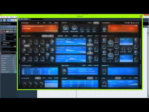 BSZ Hardstyle Lesson #4: Hardstyle Screech/Hardsound Tutorial 2013 Tone2 ElectraX