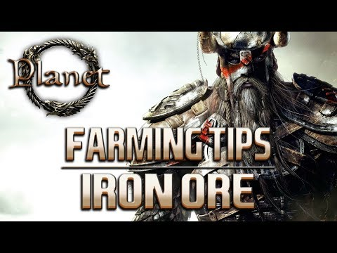 Elder Scrolls Online (ESO)  - Iron Ore Farming Location (Aldmeri Dominion)